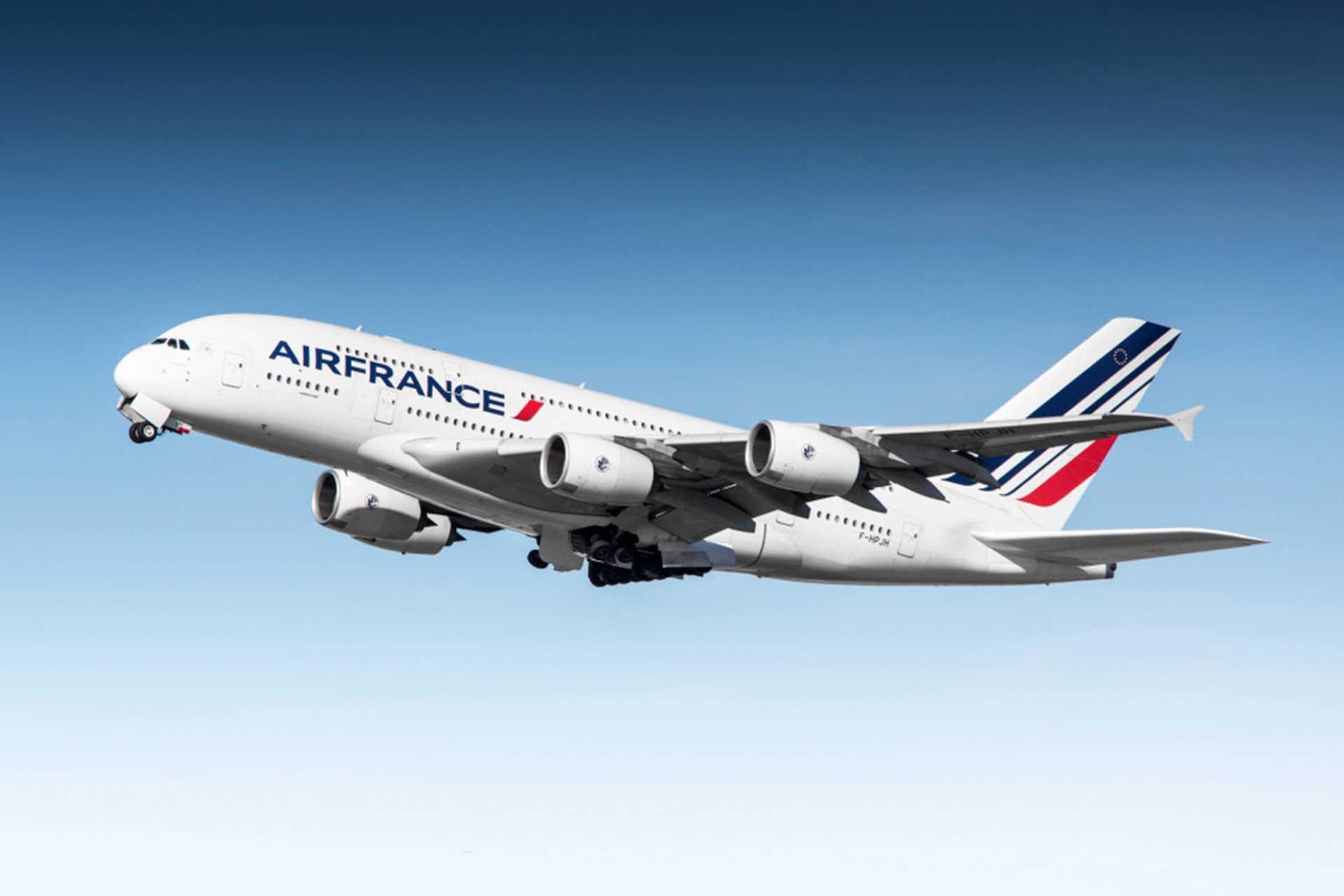 Aviso de huelga de todos los empleados de Air France